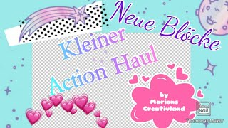 💐💐💐ACTION Haul & NEUE Blöcke💐💐💐