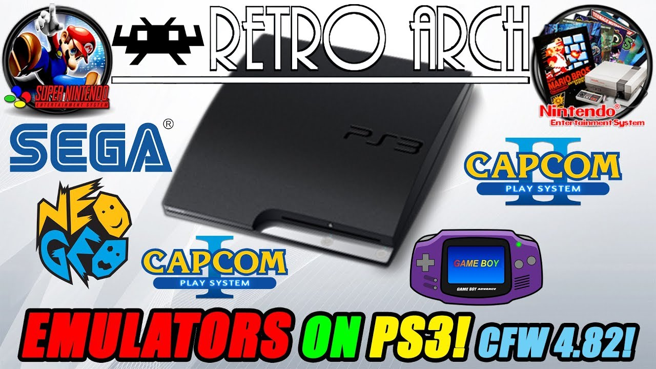EMULATORS ON PS3! RetroArch on Custom Firmware 4 82!!!