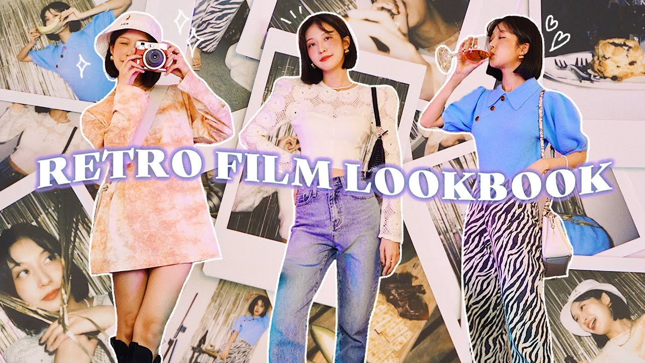 ⚠️주의 : 90년대로 돌아갈 수도 있음⚠️ 폴라로이드 코디 룩북 & 다꾸 실력 대공개!!! 📓