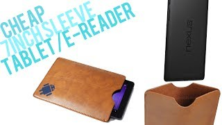 Cheap 7inch Tablet/e-reader/kindle Sleeve