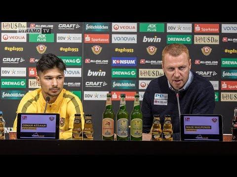 22. Spieltag | SGD - SSV | Pressekonferenz vor dem Spiel