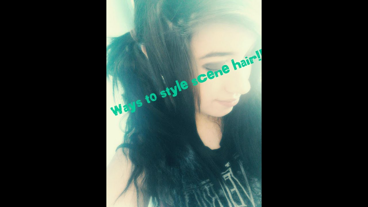 ways to style scene hair different ways to style quot quot hair 8540 | maxresdefault