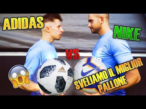 ADIDAS VS NIKE - Sveliamo il MIGLIOR PALLONE 😱
