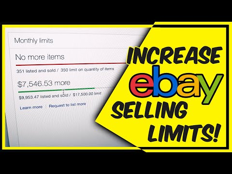 How To Increase Ebay Selling Limits How To Contact Ebay Support Youtube