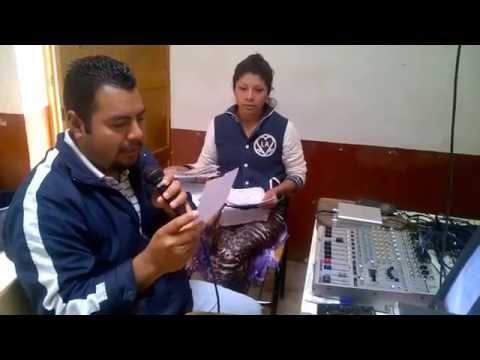 Radio Juchári Uinápekua. 98.5FM Santa Fe de la Laguna. 7/Marzo/2015