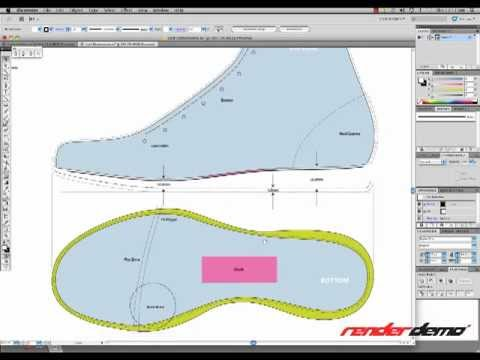 Rendering a Basketball Shoe 2