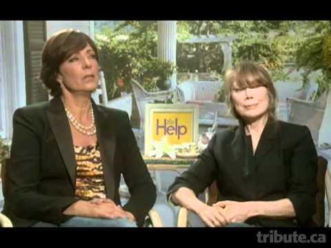 Allison Janney & Sissy Spacek - The Help Interview