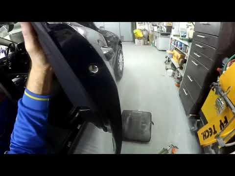 Mersedes Benz W 221 - как разобрать переднюю дверь?