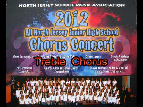 2012 North Jersey - Junior High/Middle School Treble Choir