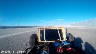 Traxxas slash top speed and crash