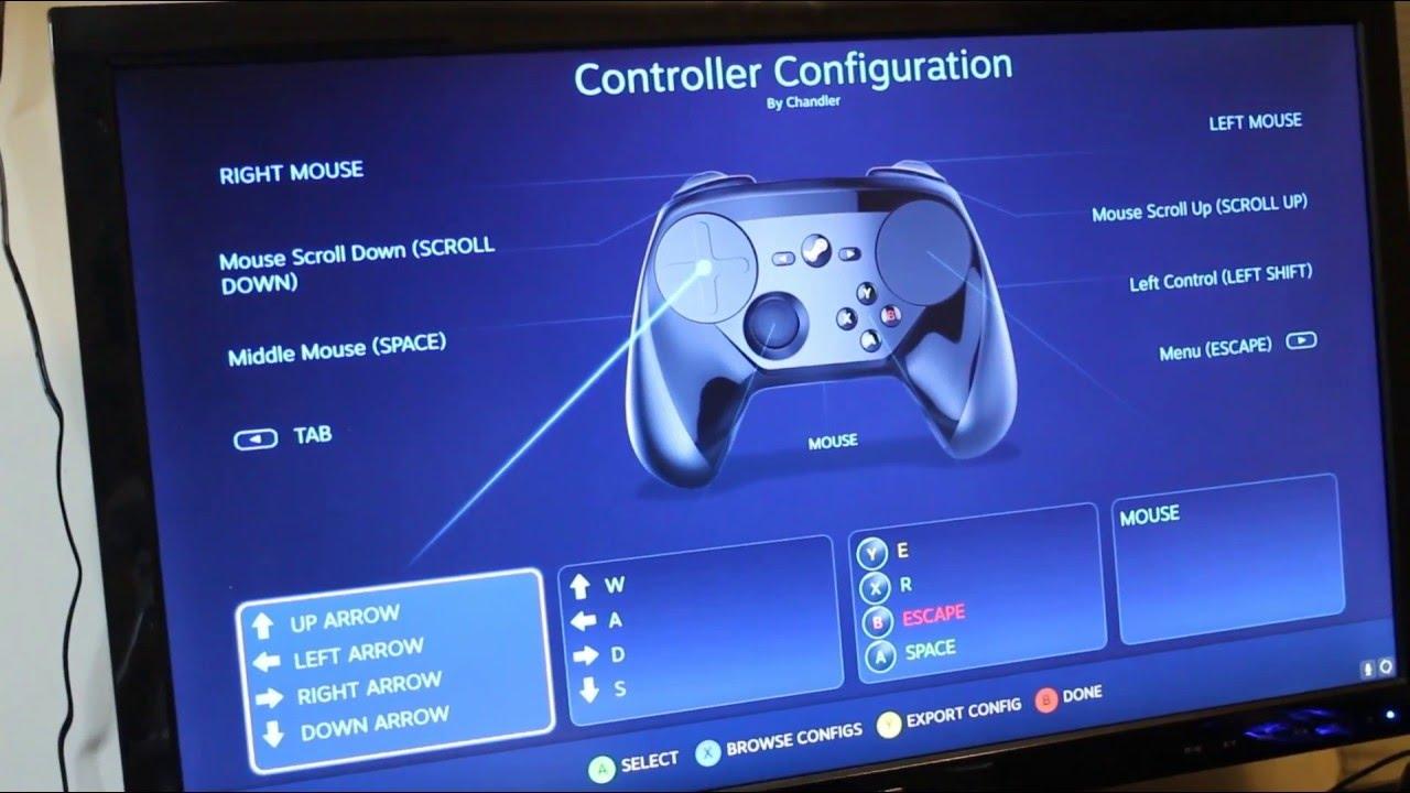 Minecraft With Steam Controller [GYRO]