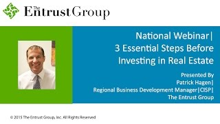 3 Essential Steps Before Investing in Real Estate - Video Image