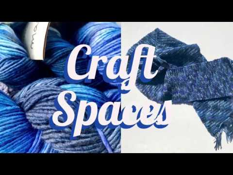 Craft Spaces - where do you work on your crafts?