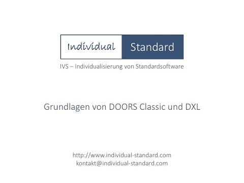 Grundlagen von DOORS 9 und DXL - Folge 1  sc 1 st  YouTube & Grundlagen von DOORS 9 und DXL - Folge 1 - YouTube
