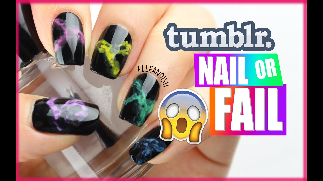△ tumblr NAIL or FAIL: SMOKE NAILS △ - YouTube