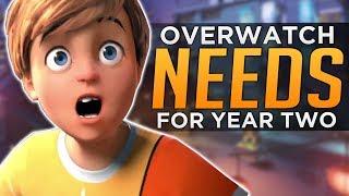 What Overwatch Year 2 NEEDS!