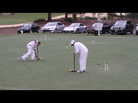 Croquet:John's Island  - Taylor v Jenkins - 2016