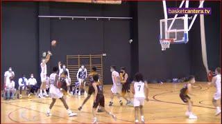 U16M - CB ZENTRO BASKET vs REAL MADRID.- Liga Cadete FBM #BasketCantera.TV