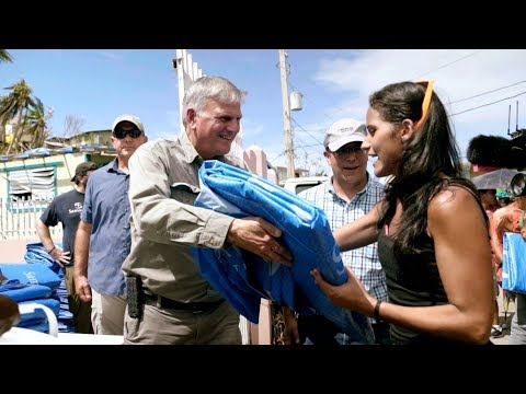 Franklin Graham Leads Relief Efforts in Puerto Rico