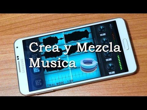 Crea y Mezcla tu propia Musica Con tu Telefono // Tu Android Personal