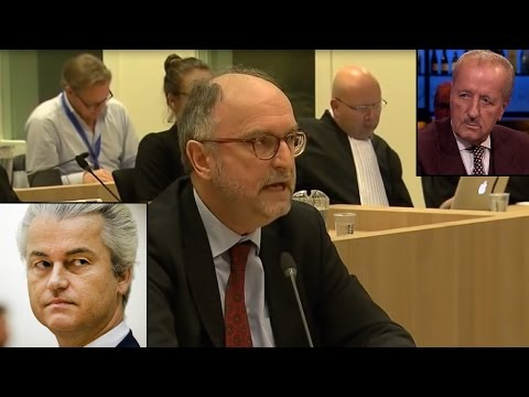 Dutch Professor SCHOOLS the judges who sentenced Geert Wilde