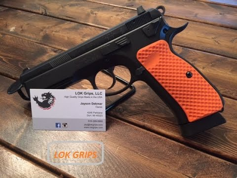 LOKGRIPS - Pistol Grips for CZ 75 SP-01 & CZ 75B