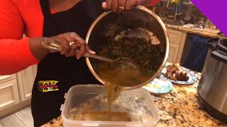 How to Cook Collard Greens in a Pressure Cooker