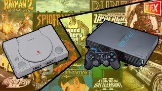 Как запустить игры PS1 на PS2. Максимально подробный обзор.