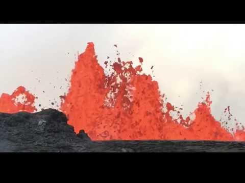 5/19/18 5pm Hawaiian Volcano update - Hawaii county Civil defense message