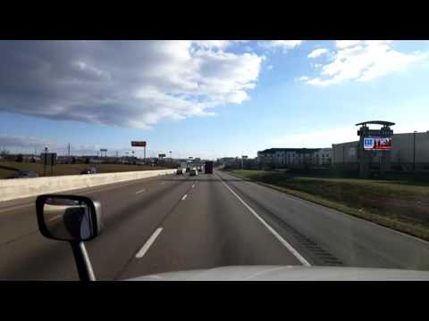 Bigrigtravels Live! - Knoxville, Tennessee to Williamsburg, Kentucky  - Interstate 75 - 1/26/17