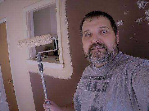 Продолжение ремонта. Покраска стен. Часть 2 заключительная