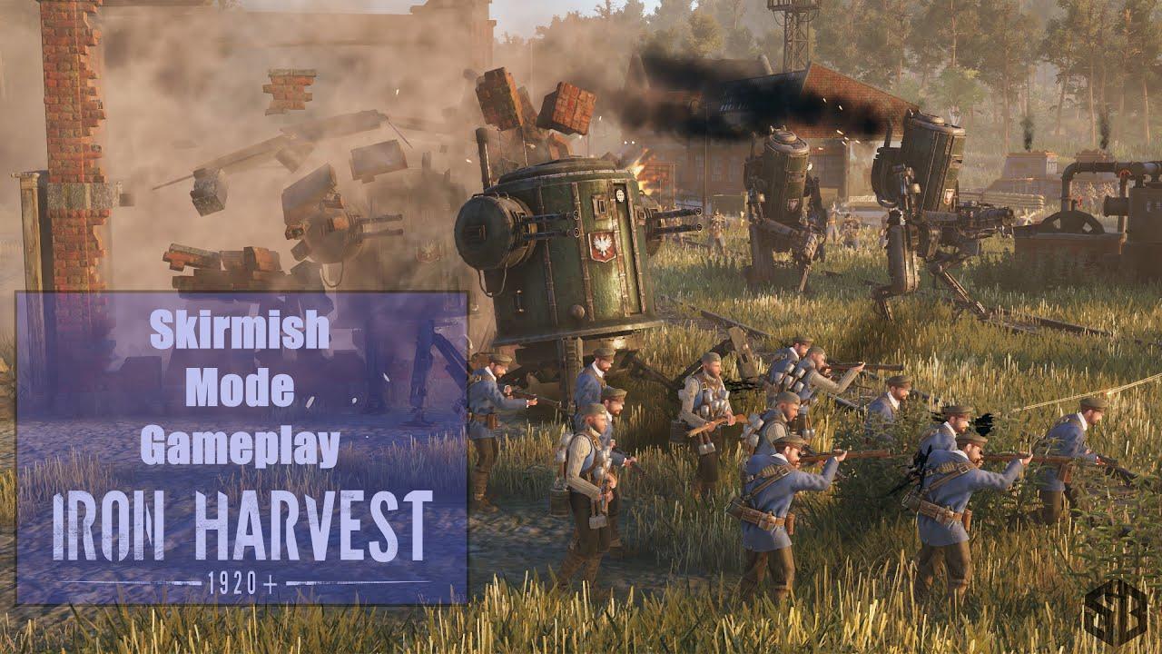 Iron Harvest Skirmish Mode Gameplay    Science's Bedroom