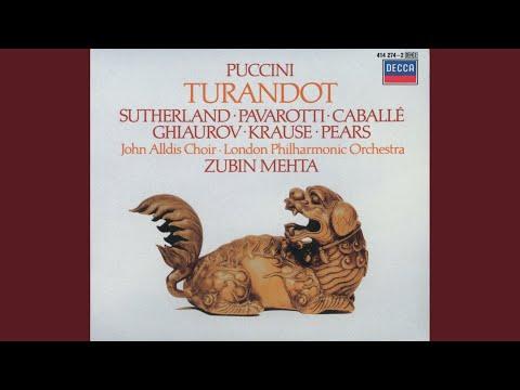 Puccini: Turandot / Act 2 - Tre enigmi m'hai proposto