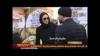 Berguzar Korel & Halit Ergenc & Erkan Petekaya in funeral of Yelda Kahvecioğlu