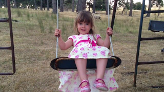 Video Little girl in pretty dress falls off swing download MP3, 3GP, MP4, WEBM, AVI, FLV Januari 2018