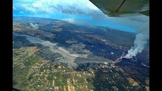 2018 Hawaii Volcano Sends Lava River Through Community