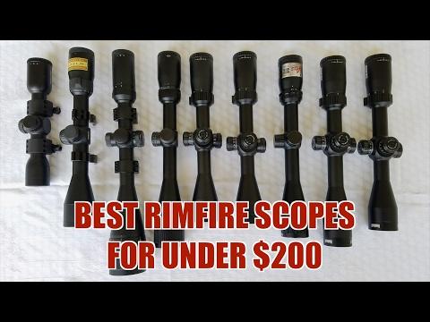 TOP RIMFIRE SCOPES FOR UNDER $200!