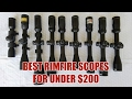 TOP RIMFIRE SCOPES FOR UNDER $200!