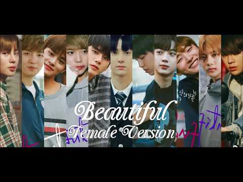 WANNA ONE - Beautiful [Female Version]
