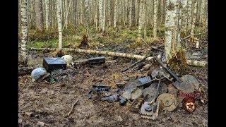Коп по войне - Танковый подрыв (превью) / Searching with Metal Detector