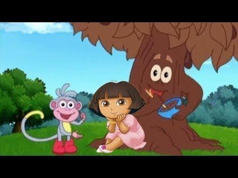 Dora The Explorer Game Seri Baru Sebagai Pohon Coklat Kartun!