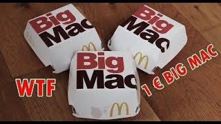 MC DONALDS 1€ BIG MAC CHALLENGE | FAIL | MIT SPENDENAKTION