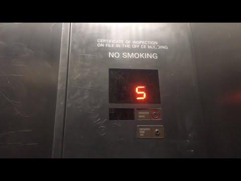 EPIC Mitsubishi Traction Service Elevator @ Westfield SF Center - San Francisco, CA