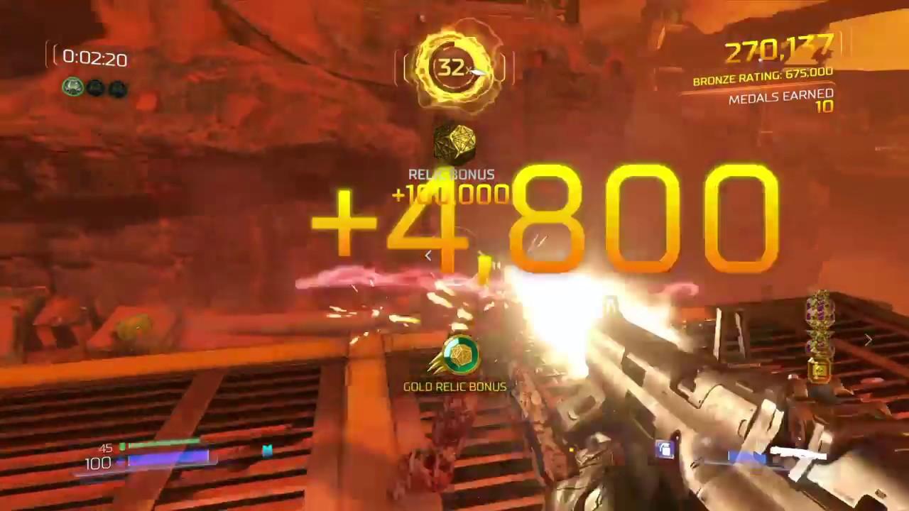 DOOM (2016) - Arcade Mode Gameplay (Free Update 4) - YouTube