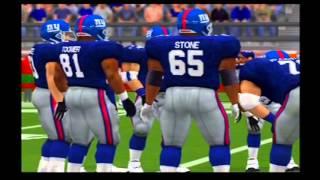 Baltimore Ravens vs New York Giants Pretend Super Bowl 35 Madden NFL 2001