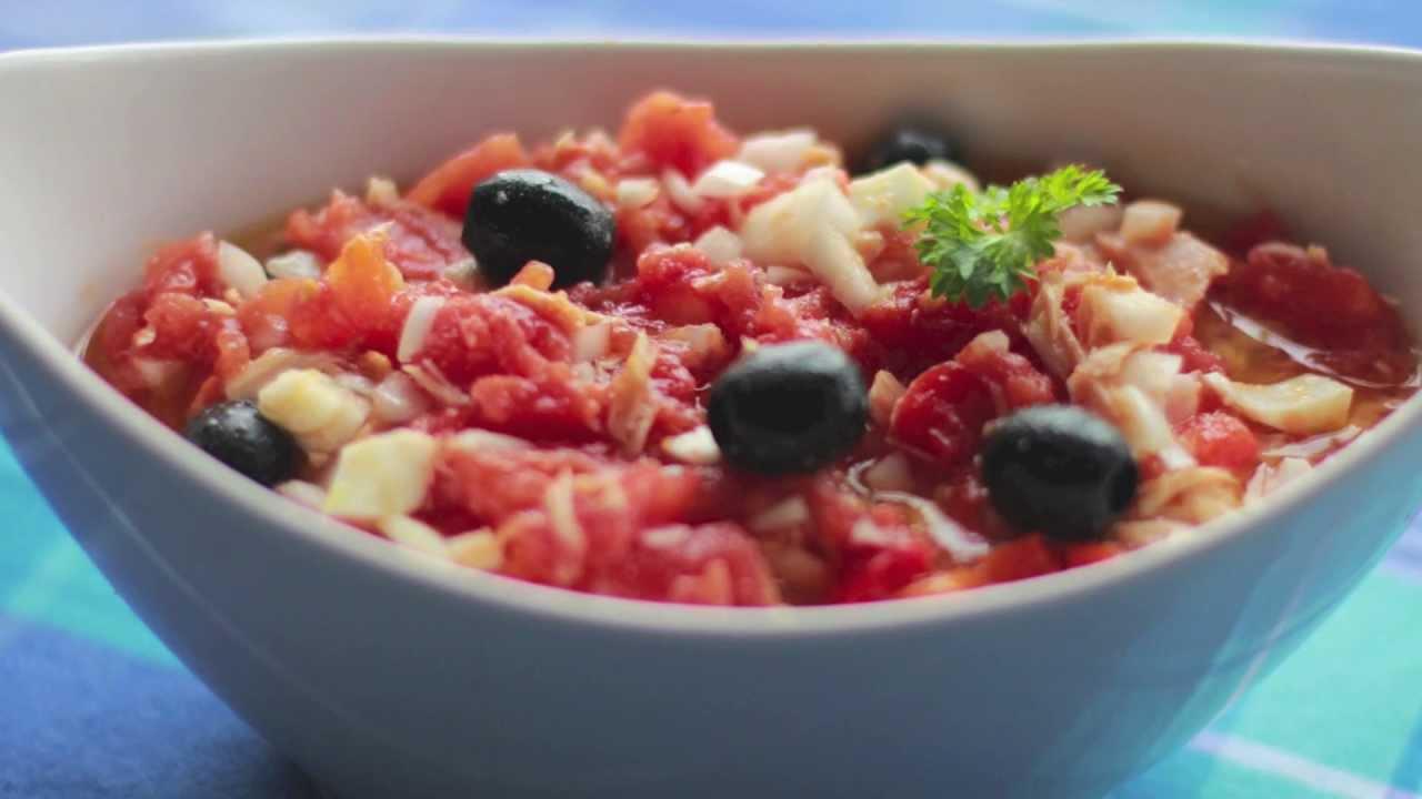 Ensalada murciana de tomate recetas de cocina ligeras - Www revistalove es cocina ...