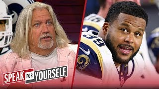 Rob Ryan on Rams signing Aaron Donald and Jalen Ramsey's trash talk | NFL | SPEAK FOR YOURSELF