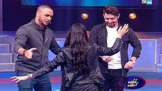 """أعضاء فريق the five يرقصون على أنغام الشعبي في """"كي كنتي كي وليتي"""""""