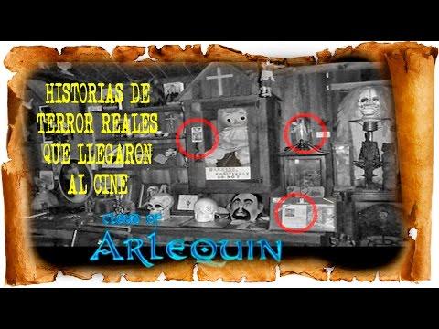 Historias de terror reales que llegaron al cine ☠ cloud of arlequin