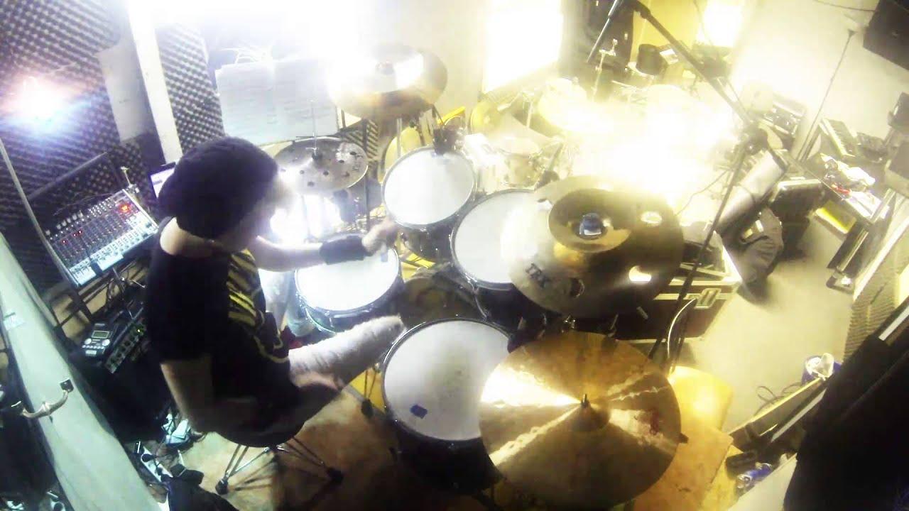 Nirvana Heart-Shaped Box Female Drum Cover - YouTube